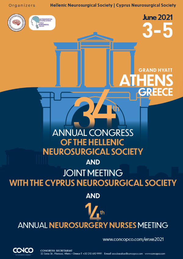 34th Annual Congress of the Hellenic Neurosurgical Society and Joint Meeting with the Cyprus Neurosurgical Society