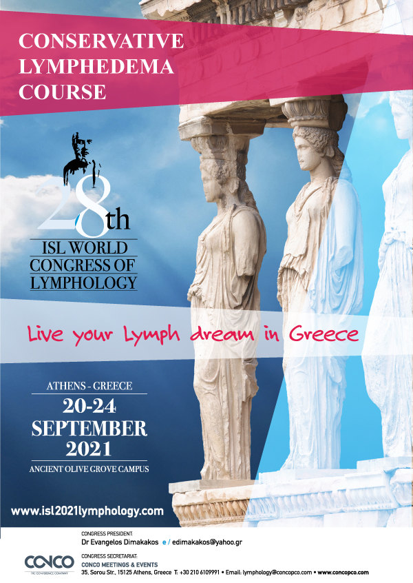 28th World Congress of Lymphology | Conservative Lymphedema Course