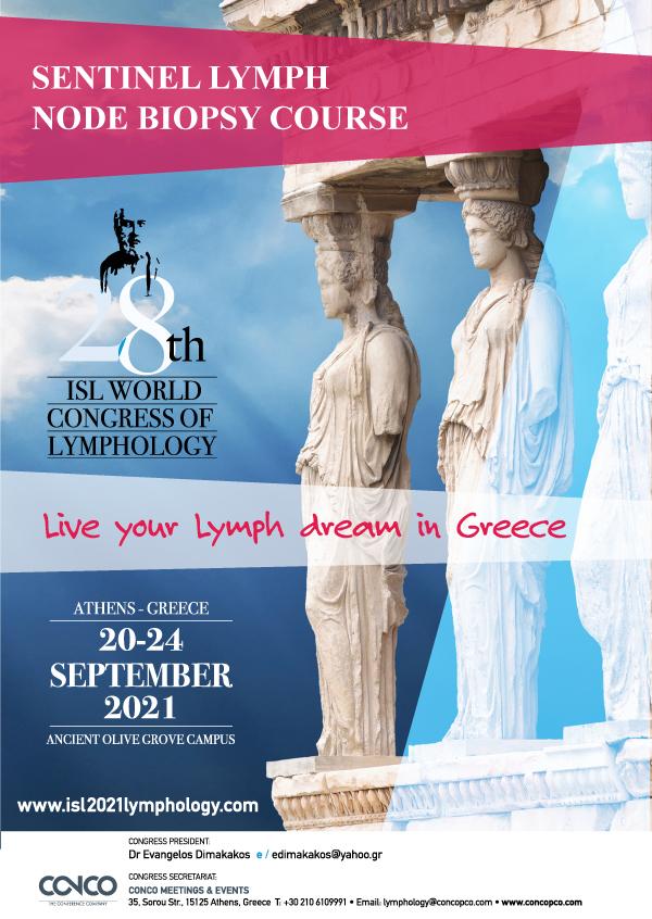 28th World Congress of Lymphology | Sentinel Node Surgery Course