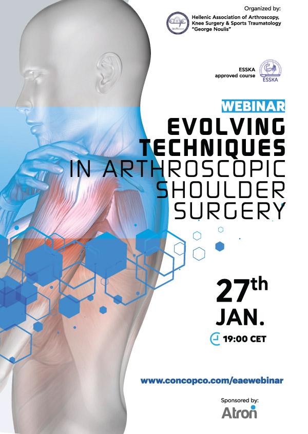 Webinar | Evolving Techniques in Arthroscopic Shoulder Surgery